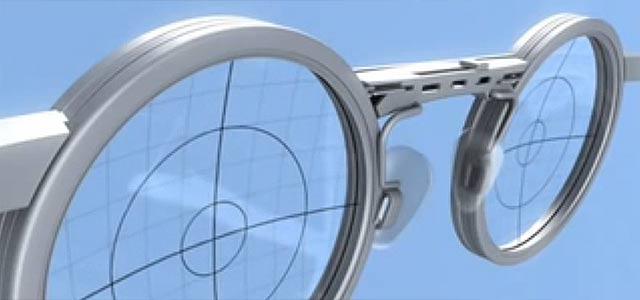 TruFocals ピントを自由に調節できる流体レンズメガネ