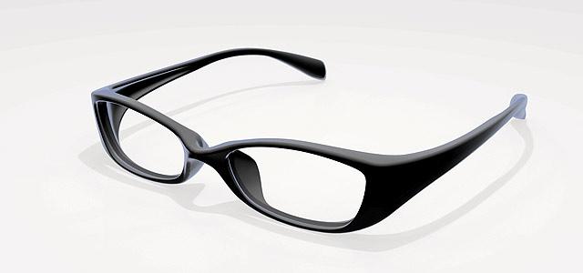 眼鏡フレームの3Dデータ (STL形式を無償配布)