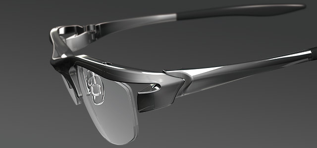 【 3D 】 眼鏡 のデザイン