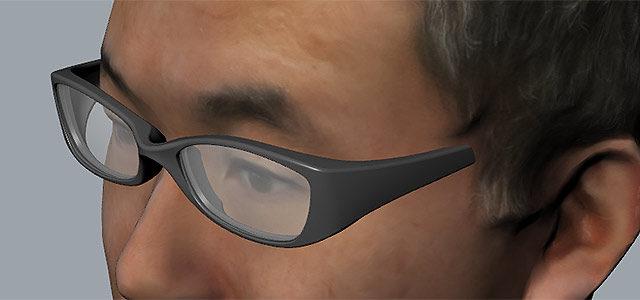 【 Rhinoceros へインポート 】3Dデータ化した頭を元に、自分専用の眼鏡を作ってみる その1