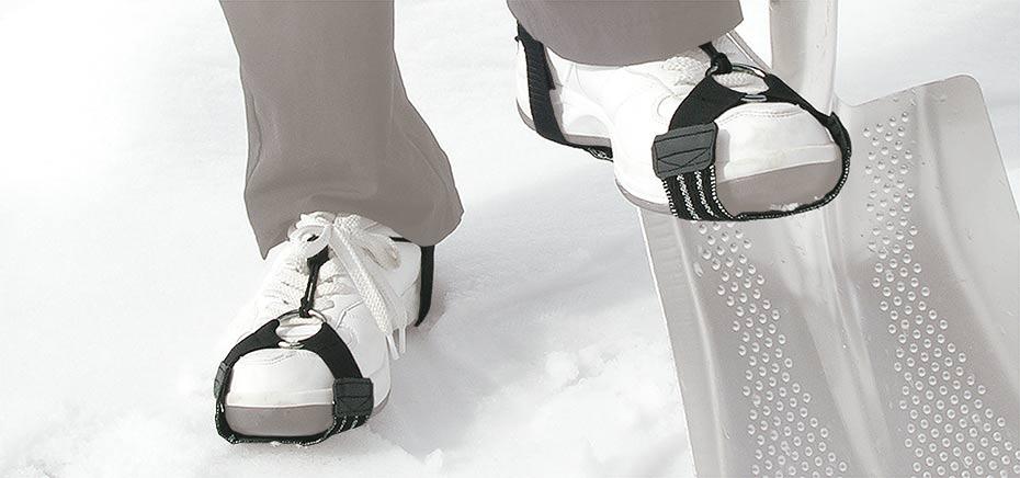 靴に装着する滑り止め KANTOBELON SNOW SLIP GUARD