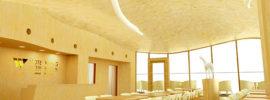 【 3D 】ホテルの 大曲面天井の3Dデータの作成 (ホテルウィングインターナショナルプレミアム金沢駅前)